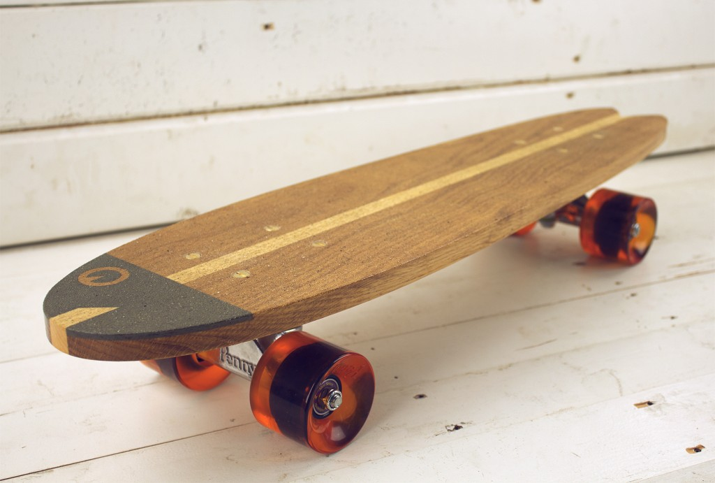 Old school skateboard